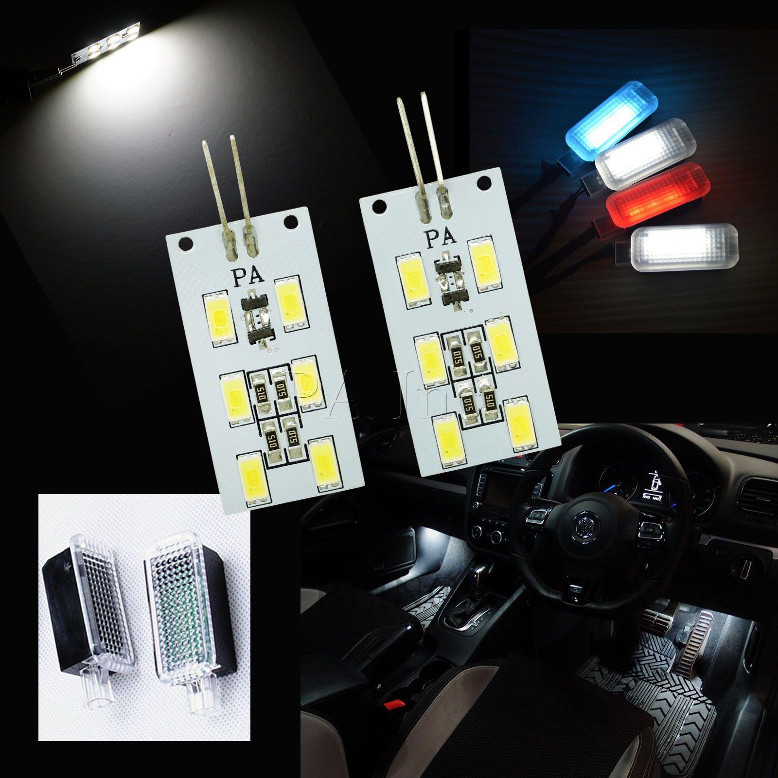 2016 New Product Auto Car Reading Interior Lamp for VW Audi Glove Light Foot Light G4 6SMD 5630  #readinglight #gloveboxlight #autocarbulbs #gootlight #5630led #6SMDwhite