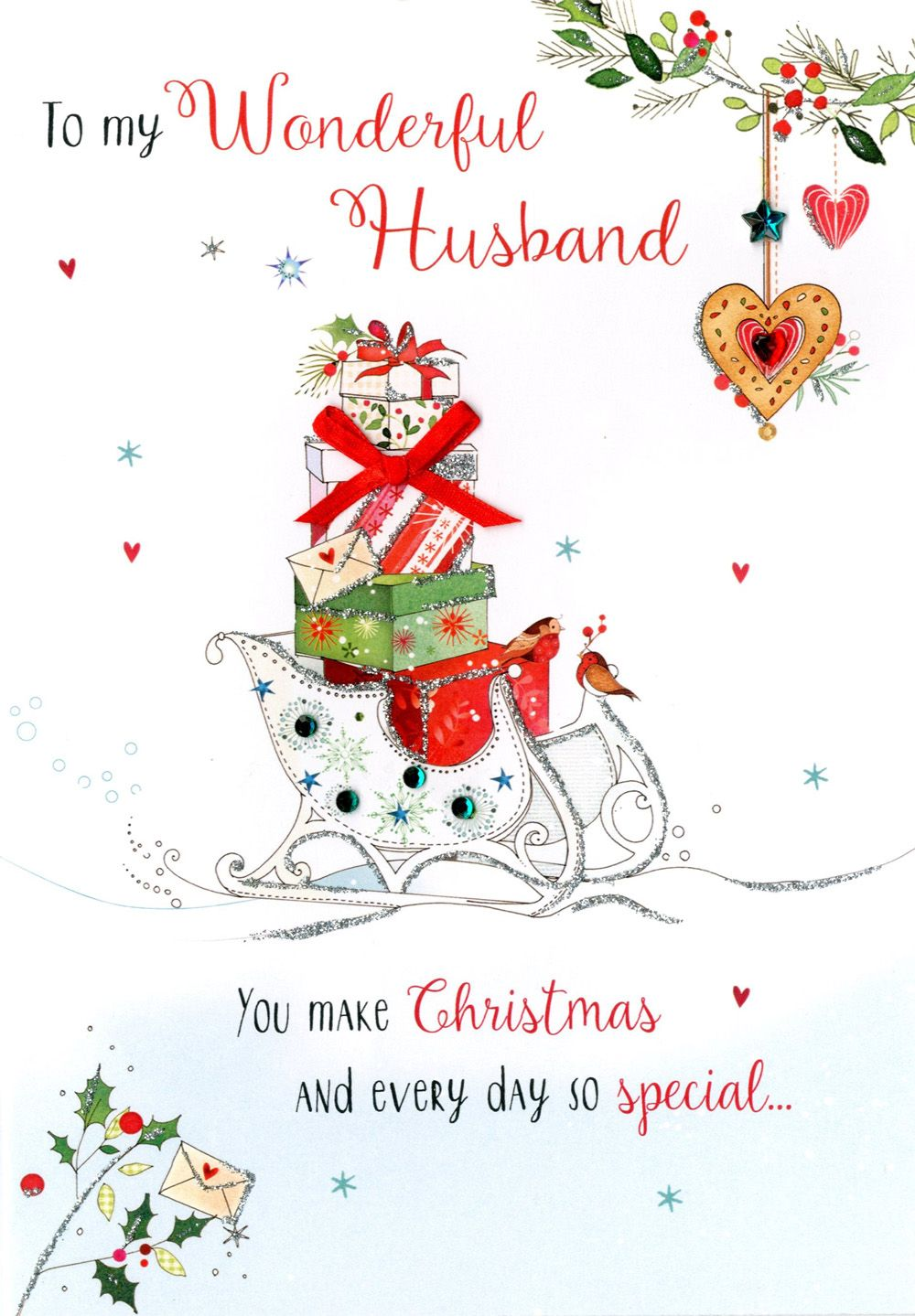 80 romantic and beautiful christmas message for husband