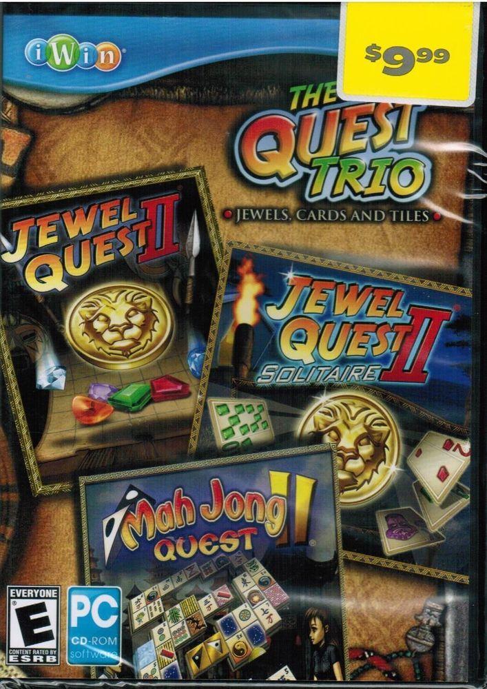 The Quest Trio Jewel Quest II Jewel Quest II Solitaire Mah