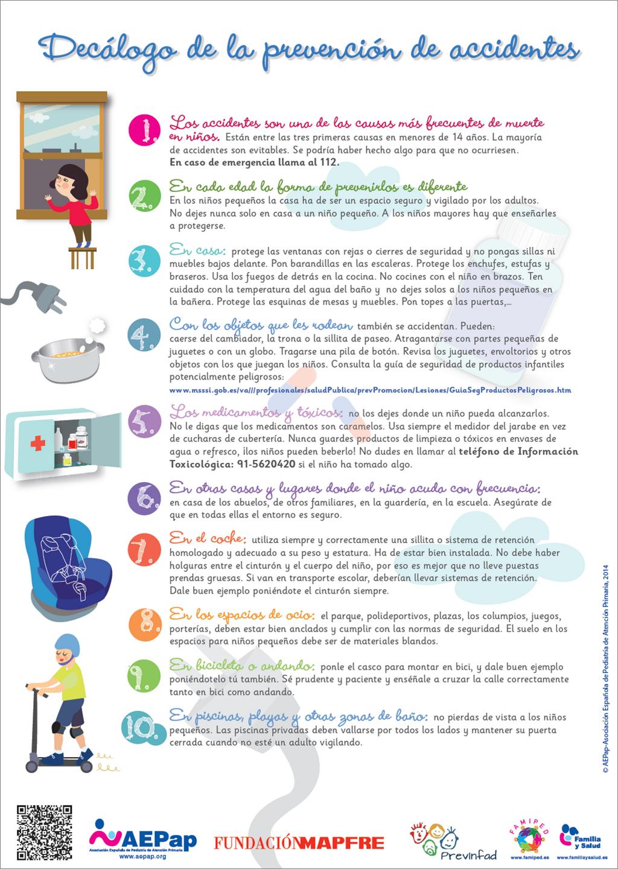 Aepap On Prevencion Accidentes Escolares Y Enfermeria Pediatrica