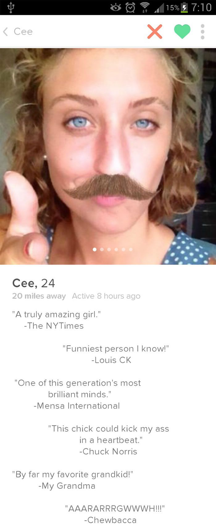 10 10 Would Date Her Tinder Humor Funny Tinder Profiles Funny Dating Memes