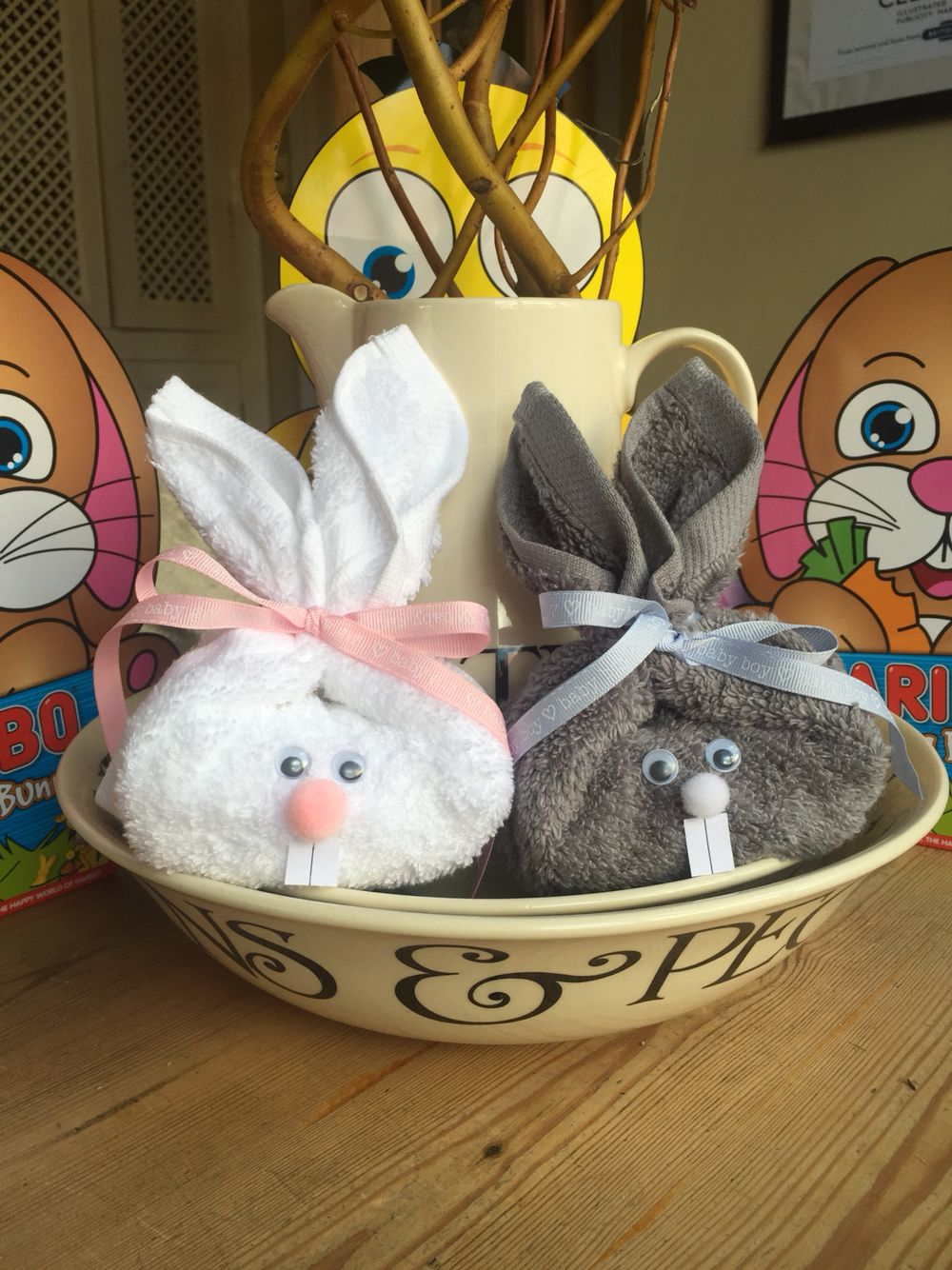 Flannel Soap Bunnies Posh Easter Crafts Christmas Crafts