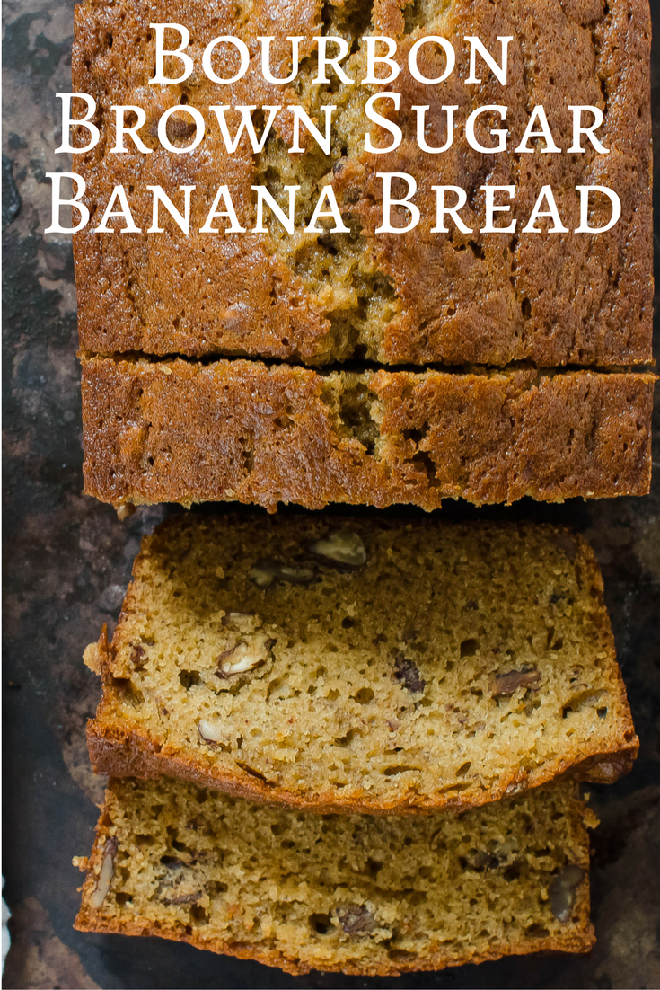 Bourbon Brown Sugar Banana Bread - #banana #Bourbon #BREAD #Brown #sugar