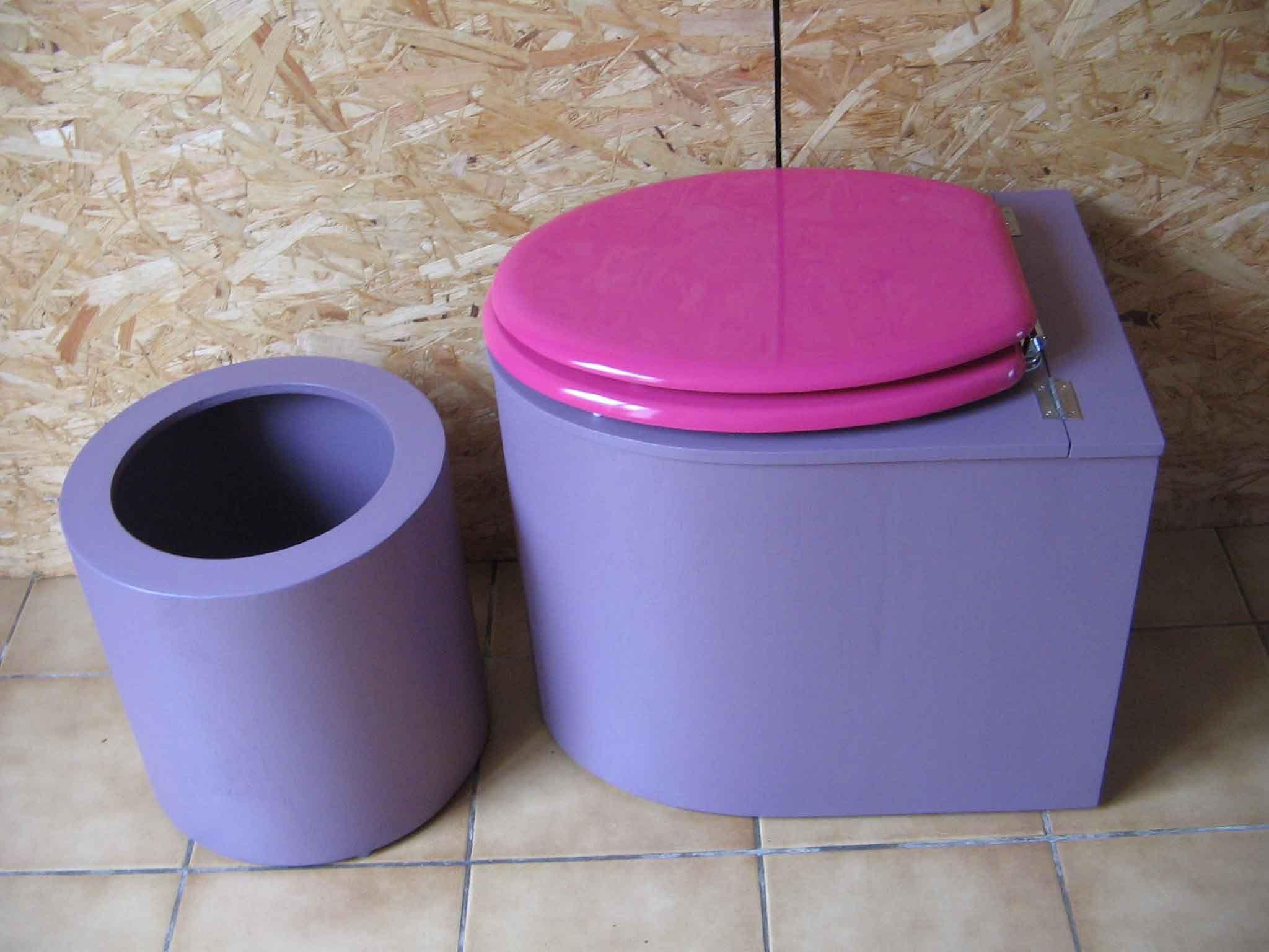 Toilettes Sèches En Appartement toilettes sèches design violette | toilette seche, toilettes