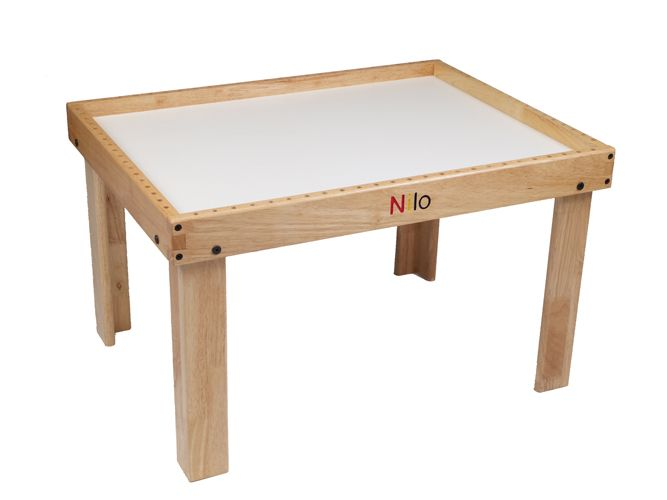Exceptional Nilo Childrens Play Tables|Lego Table|Train Table In Natural. We Carry Top