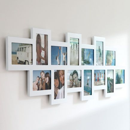 Picture Frames White Multiple