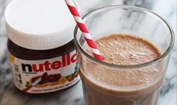 d couvrez la recette thermomix de milkshake au nutella et donnez votre avis ou commentez pour l. Black Bedroom Furniture Sets. Home Design Ideas