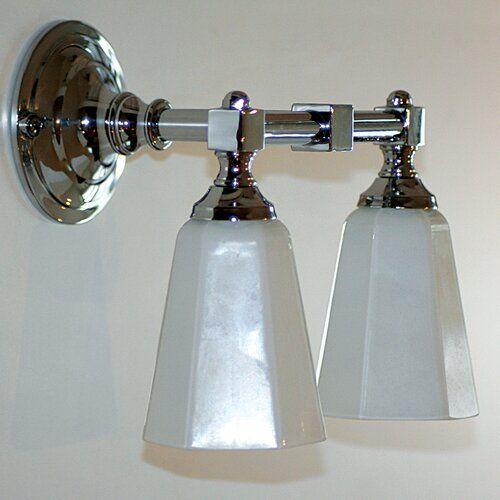 Photo of Rosalind Wheeler mirror lamp 2-lights Struthers | Wayfair.de