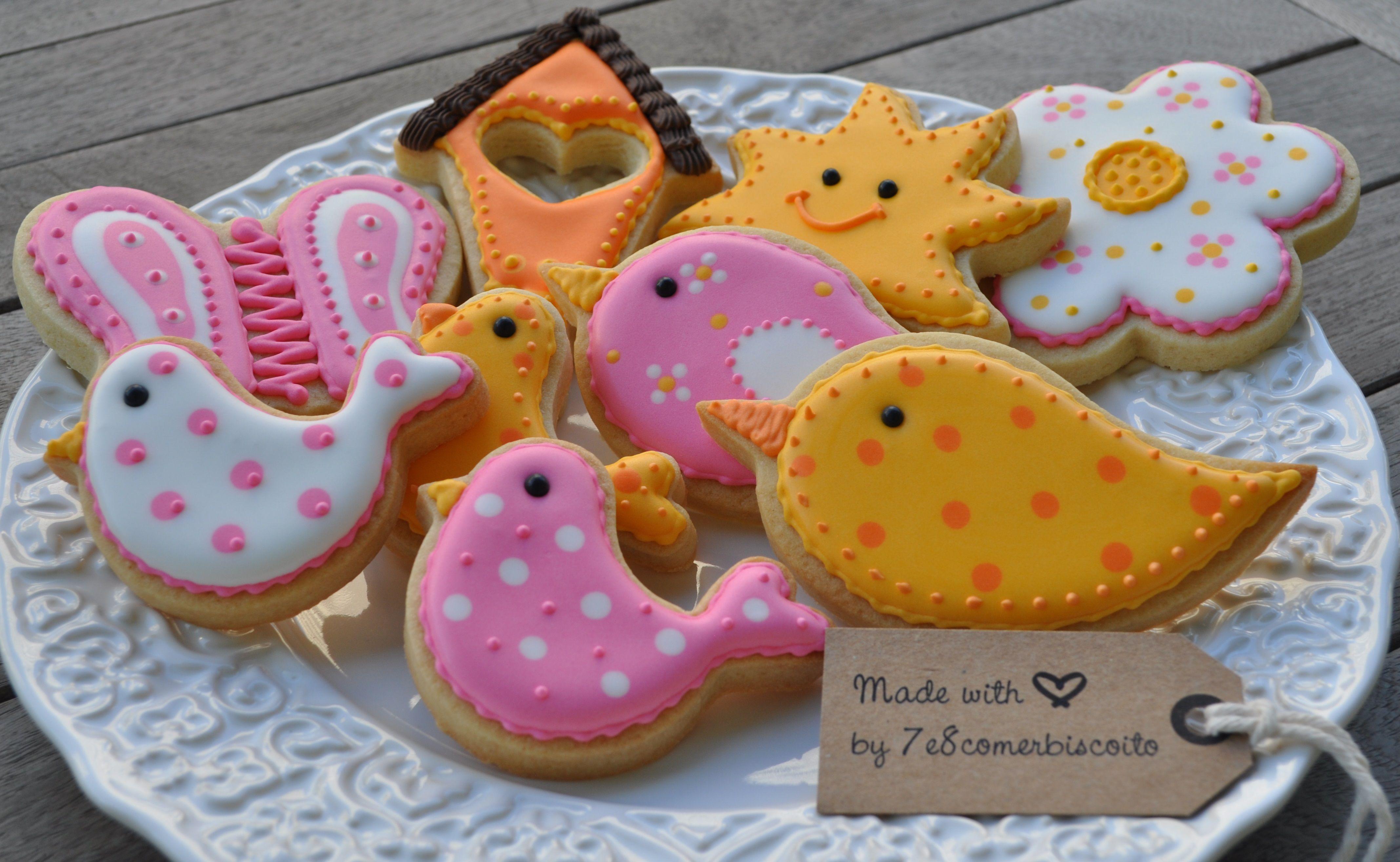 Biscoitos decorados / Cookies by