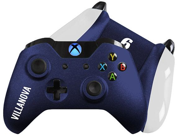 March Madness Inspired Custom Xbox One Controller Wildcats Pa Xboxone Customcontrollers Moddedcontrollers Custom Xbox Xbox One Custom Xbox One Controller
