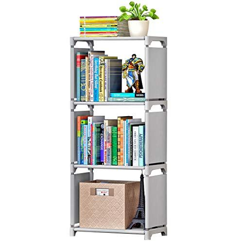 Rerii Cube Organizer Shelf 3 Storage Closet Cabinet Bookcase Bookshelf Free Standing Shelves For Bedroom Living Room Office
