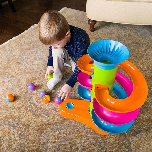 RollAgain Tower | Best baby toys, Early learning toys ...