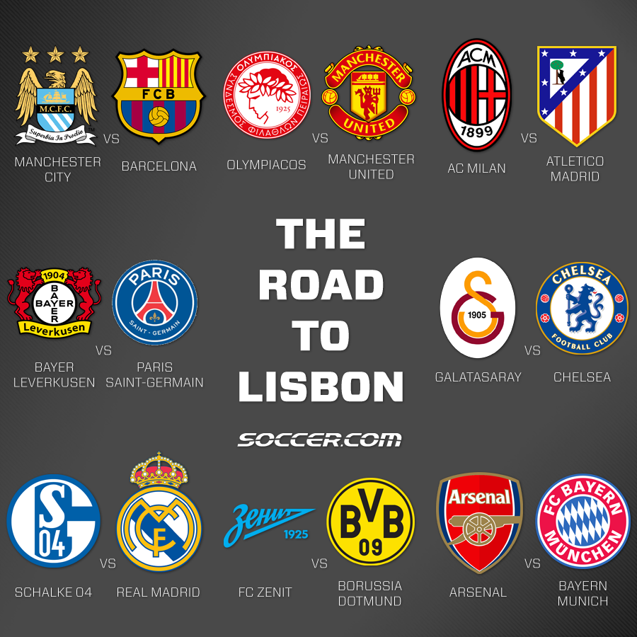 The Road To Lisbon The 16 Remaining Champions League Teams Championsleague Ucl Champions League European Football Atletico Madrid