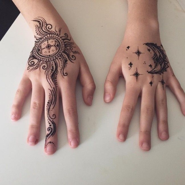 Henna Tattoo Ink Smeared: 150 Best Henna Tattoos Designs (Ultimate Guide, June 2019