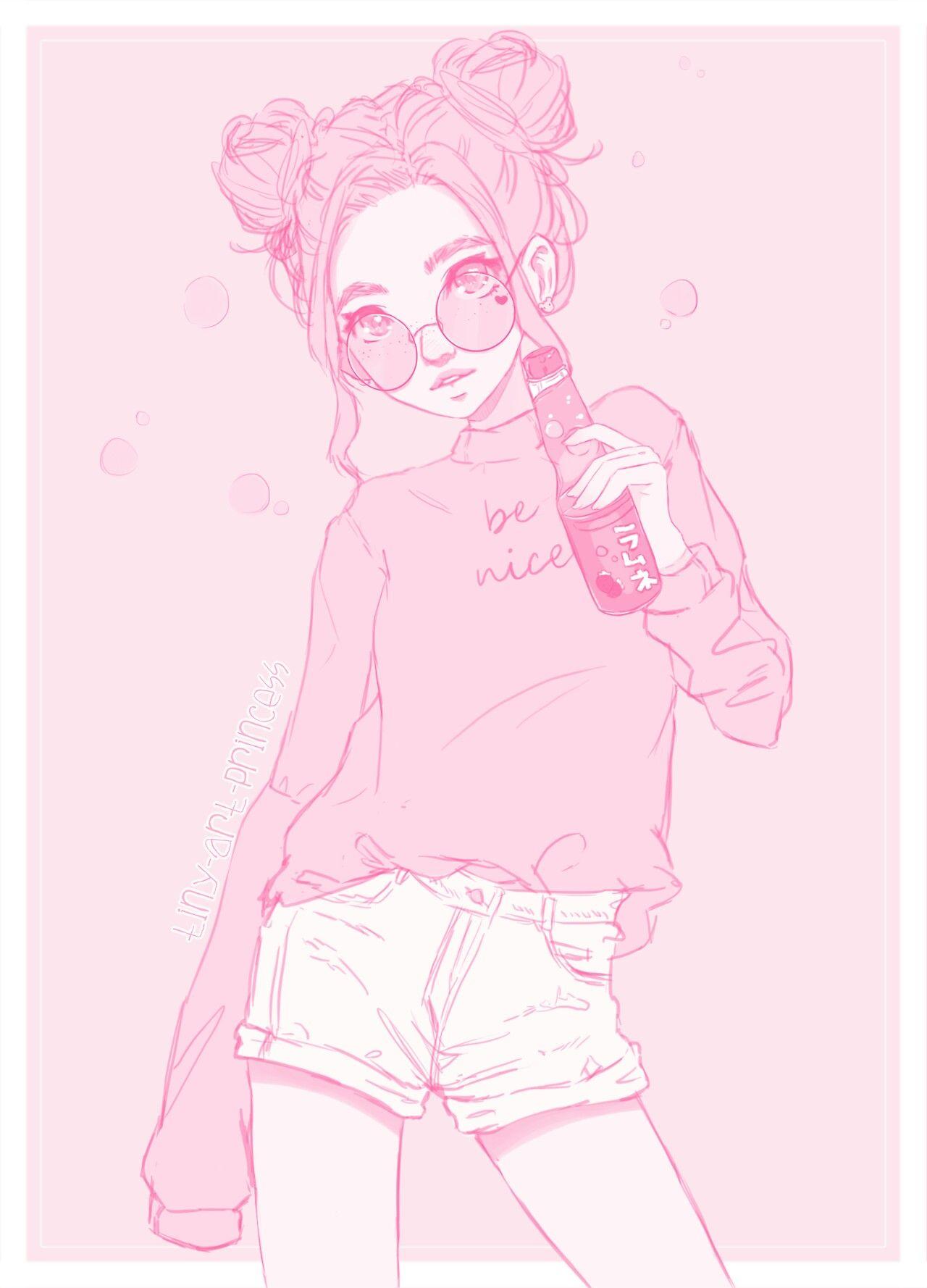 Anime Wallpaper Aesthetic Girl