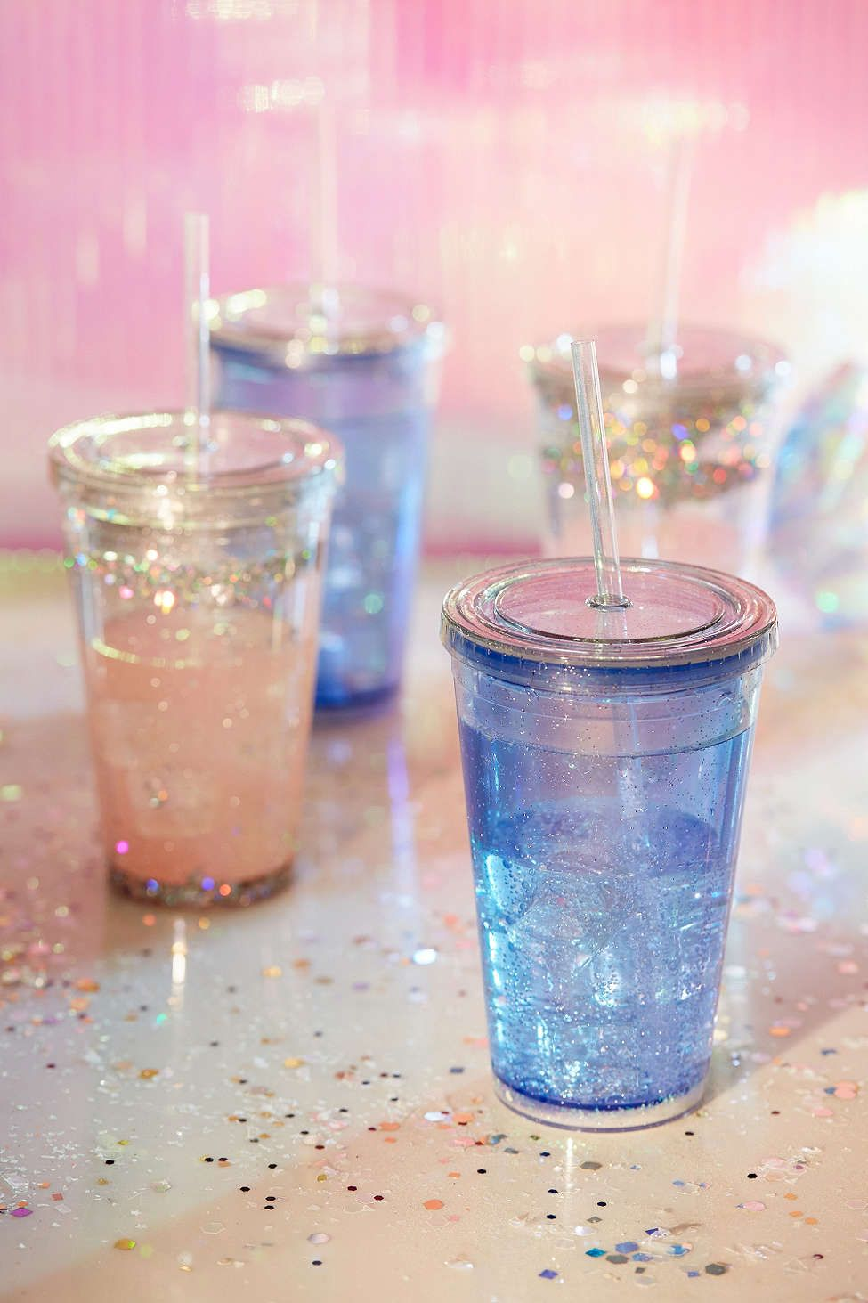 Glitter Sipper - Urban Outfitters