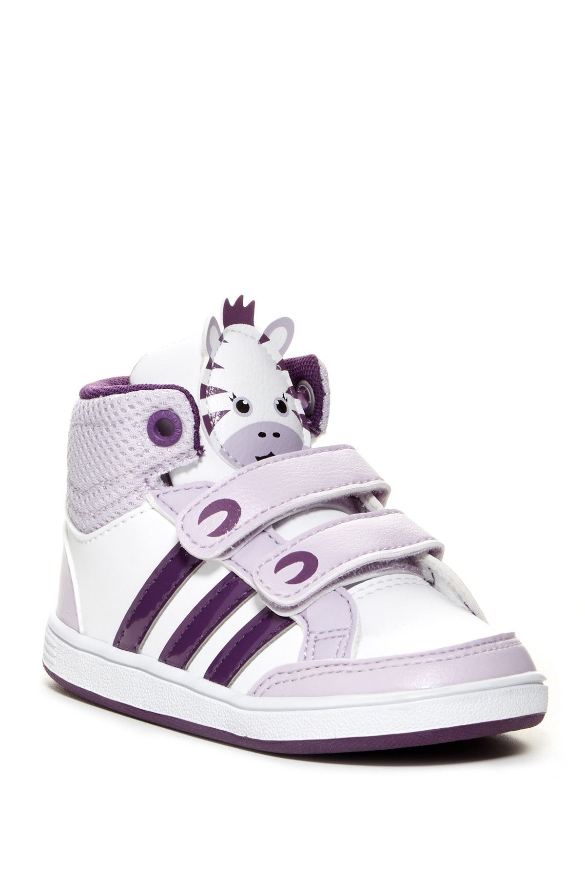 sneakers for cheap 53c92 fefef ... new zealand adidas neo hoops animal high top sneaker baby toddler baby  sneakers 73568 4d30c
