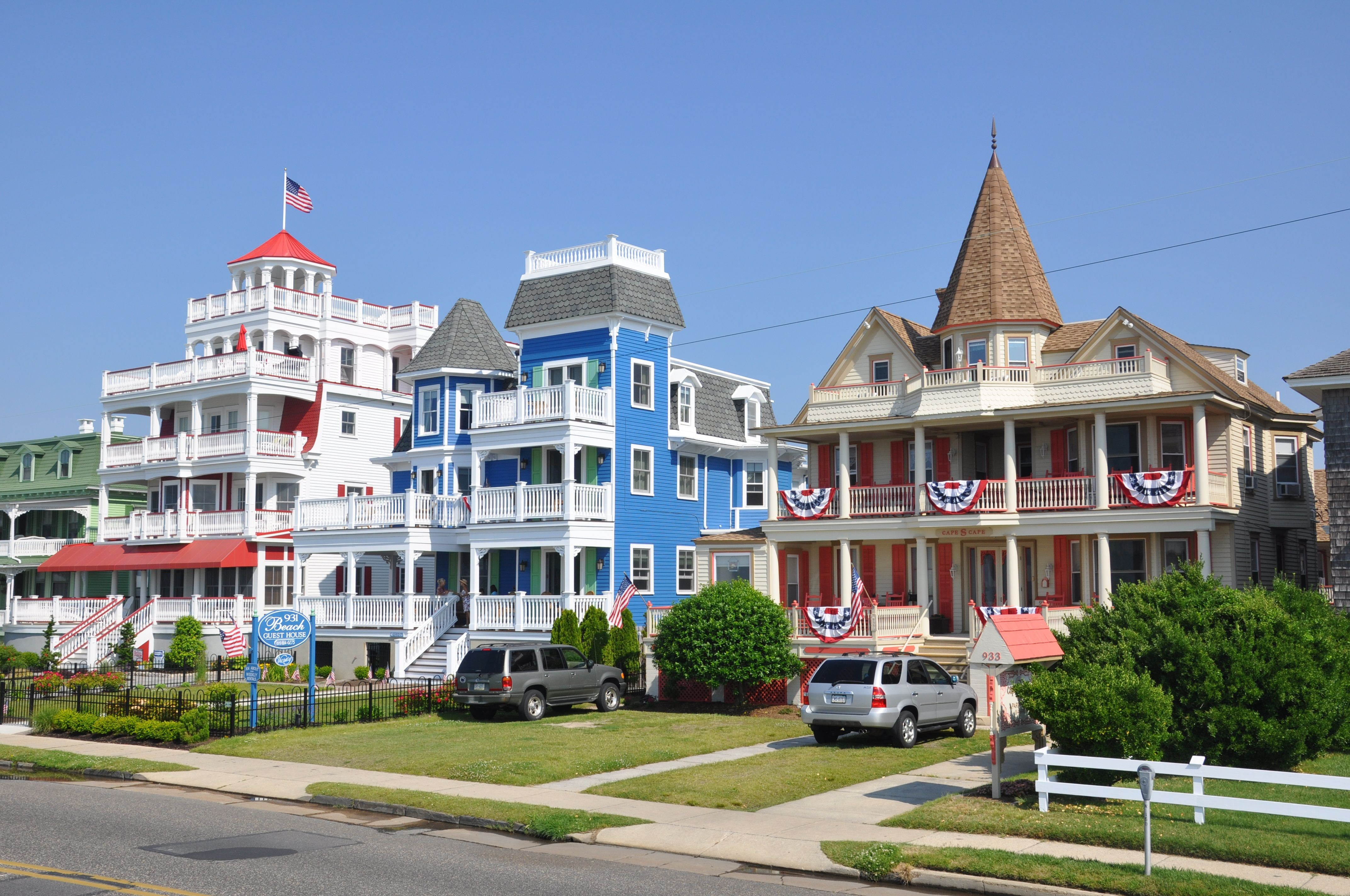 Beach Ave Victorians in Cape May, the 931 Beach Guest