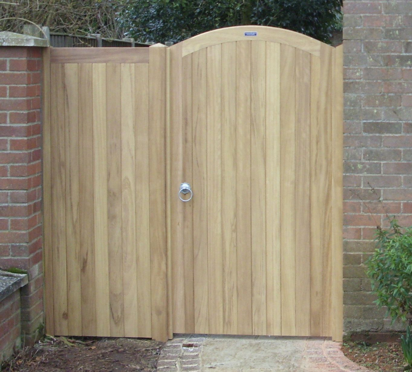 Pedestrian gates with side panels garden in pinterest