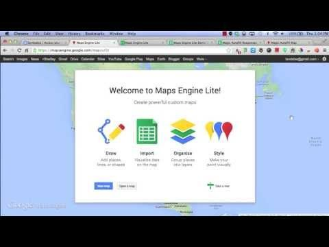 Maps Engine Lite could be a great tool to use to introduce students
