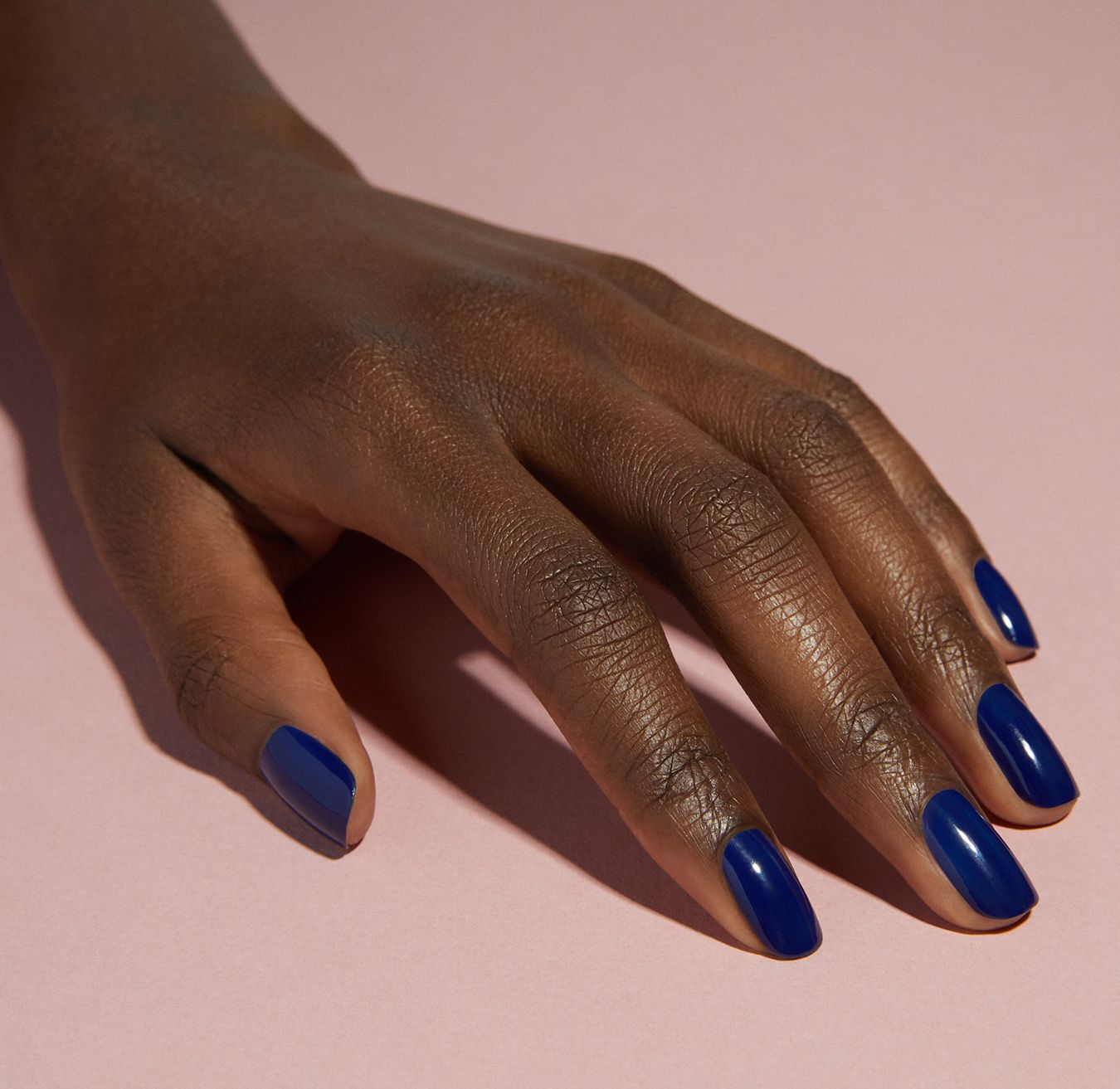 Our Cnd Blue Moon Nail Polish Shade Is The Dark Navy Color You Ve Been Looking For In 2020 Cnd Shellac Colors Blue Shellac Nails Gel Shellac Nails