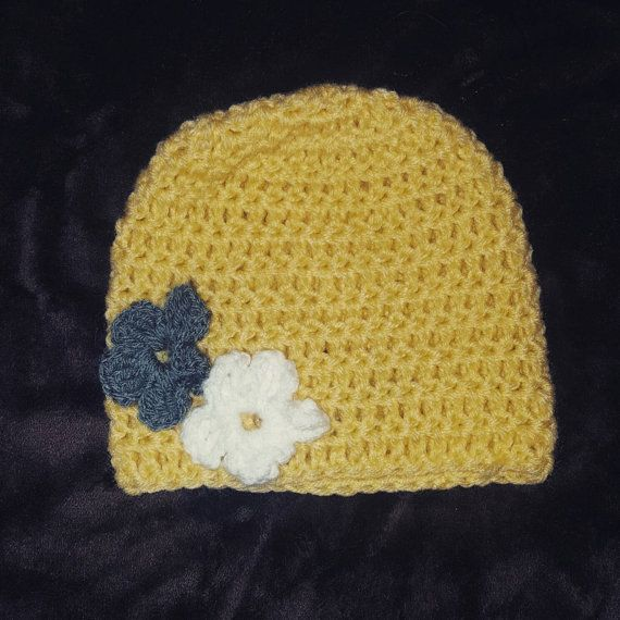 Check out this item in my Etsy shop https://www.etsy.com/listing/481492657/yellow-daisy-hat