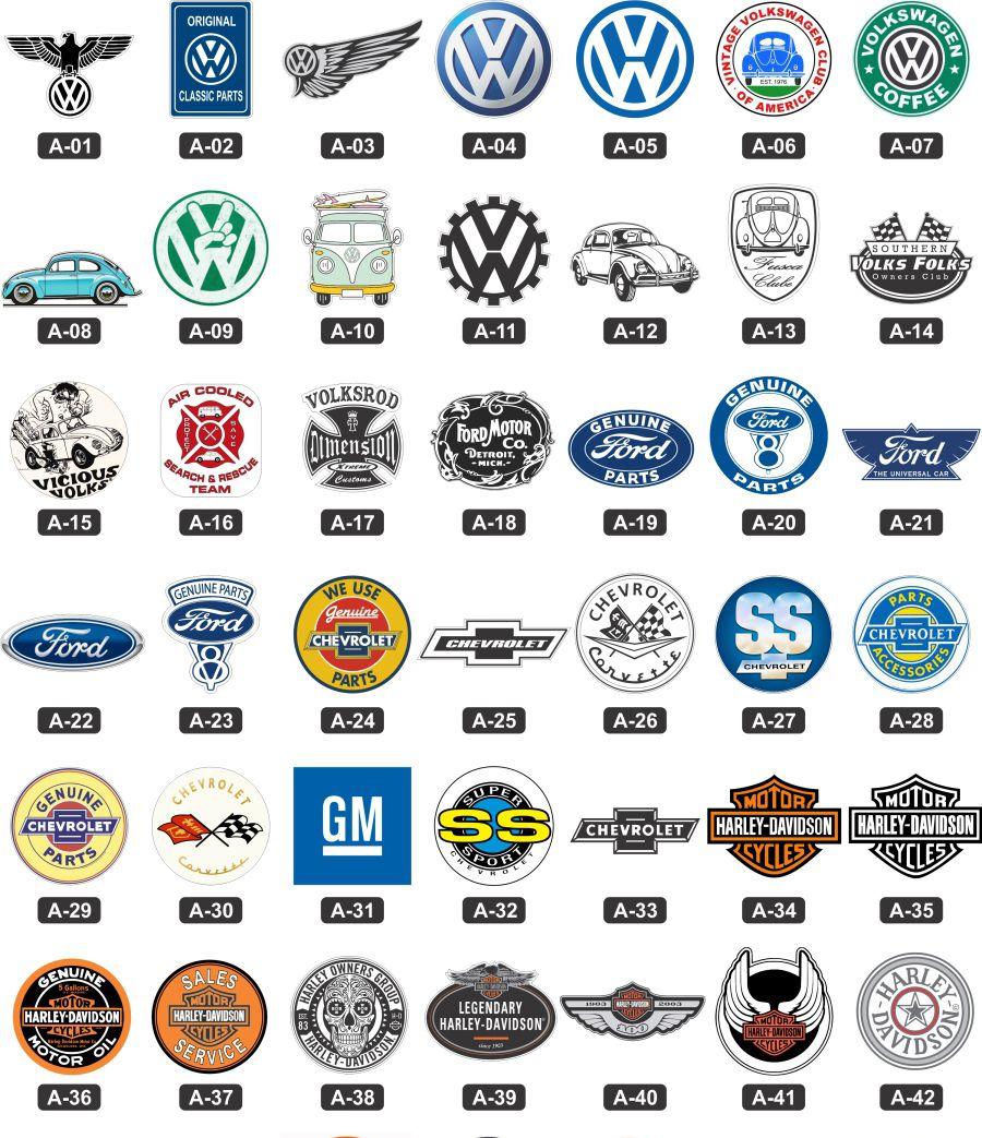 Adesivos marcas antigas retro vintage carros antigos for Marcas de coches