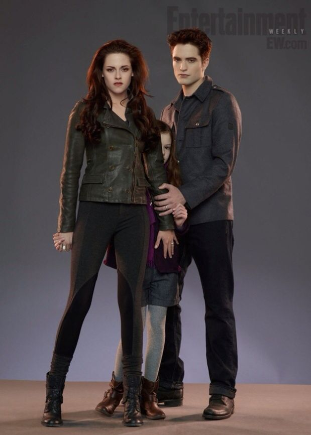 I love how she looks as a vampire and how protective she is.