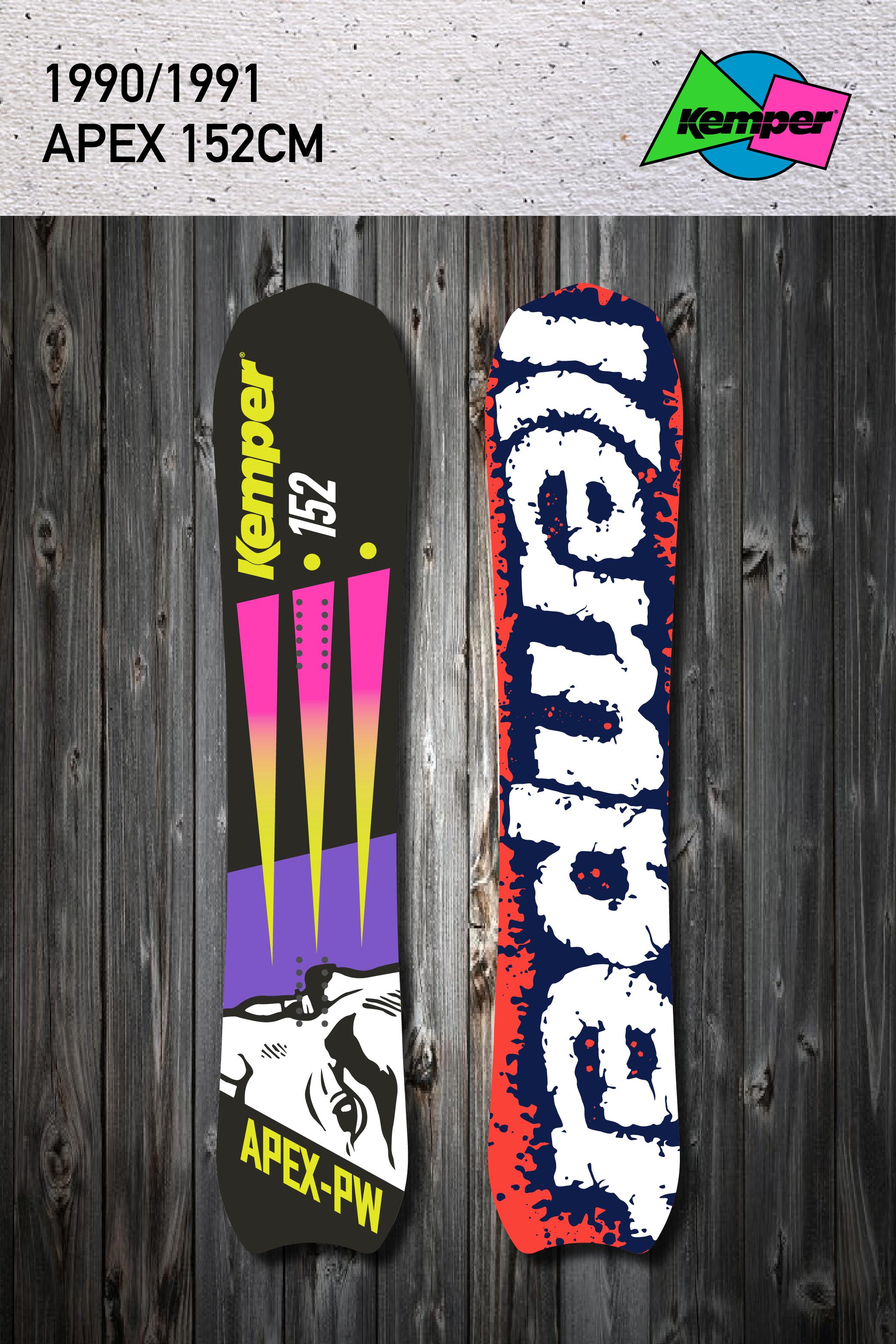 4b5d6303c59f Kemper Apex Snowboard - 1990 91