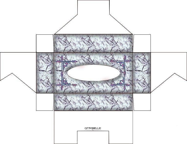 Super boite a mouchoir pour petits mouchoirs de poche | print kutu  CI37
