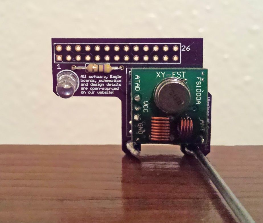 Cautious Design AC controller  Add-on to Raspberry PI  Control any
