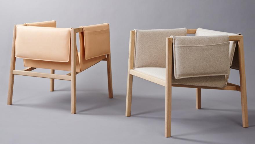 Slåke's Saddle chair, designed by Christoffer Angell, Øyvind Wyller and Simen Aarseth.