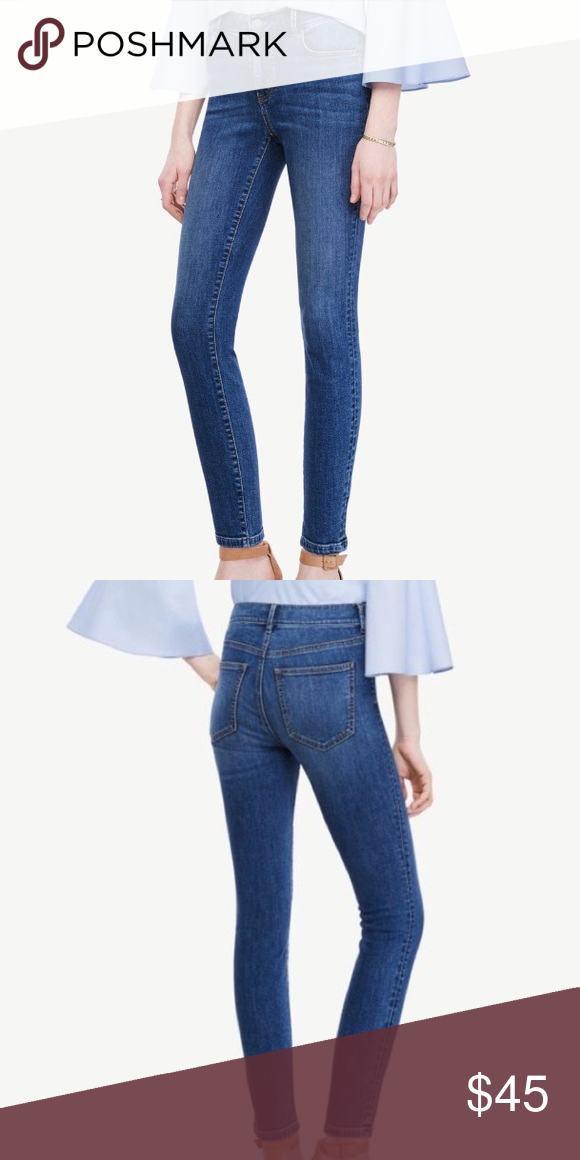 Ann Taylor Modern Skinny Ankle Jeans Mid Rise Ann Taylor Skinny Ankle Modern Fit Mid Rise Jeans In Excellent Conditio Skinny Ankle Jeans Ankle Jeans Ann Taylor