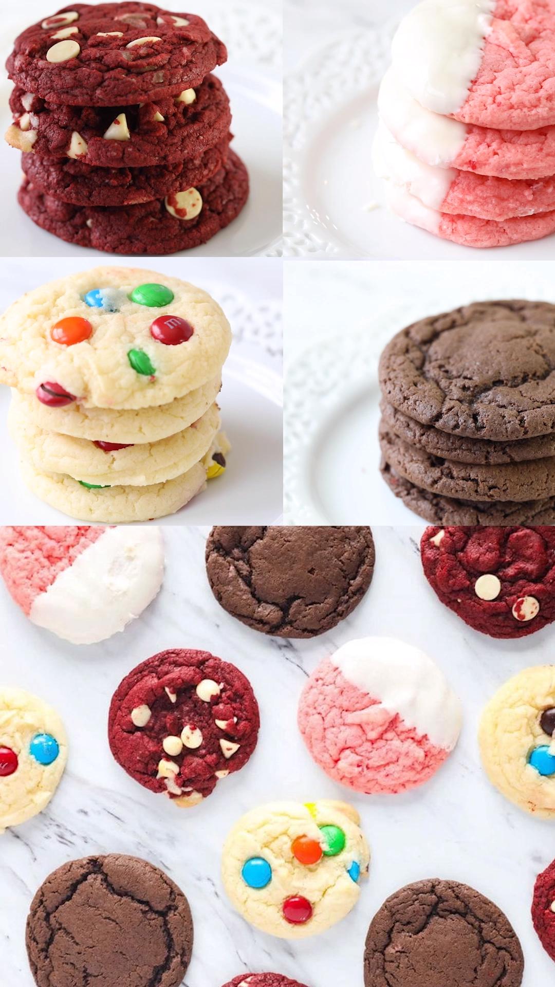Cake Mix Cookies (3 ingredients!)