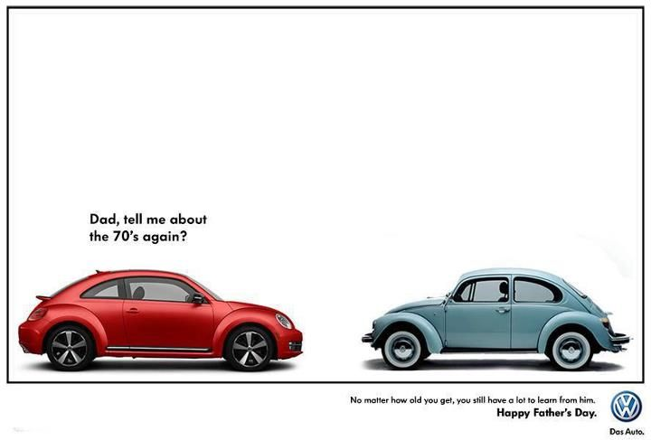 Fathers And Sons VW >> Volkswagen Dad Son Happy Father S Day Happy Fathers