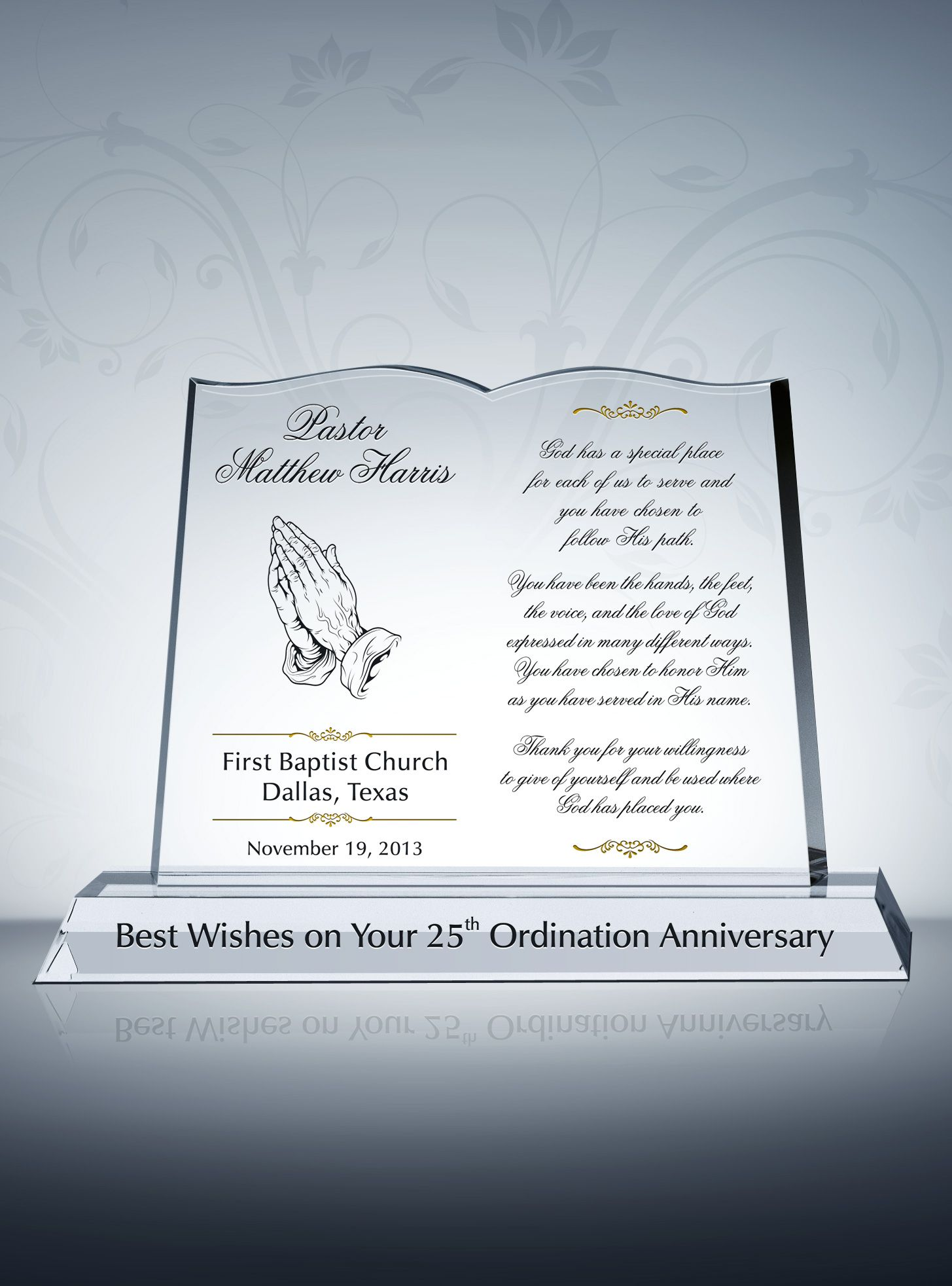 Pastor Anniversary Tributes And Sample Wordings  Pastor