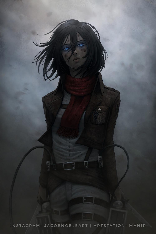 Photo of Mikasa, Jacob Noble