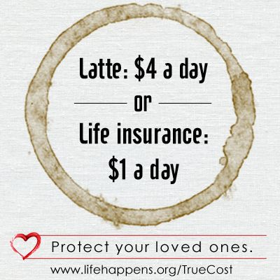 Did You Know That Life Insurance Could Cost You Less Than A Cup Of Coffee A Day Life Insurance Quotes Life Insurance Marketing Life Insurance Facts