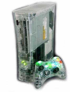 25 Video Games & Consoles Xbox 360 Kinect Replacement Transparent Cases Boxes Purple