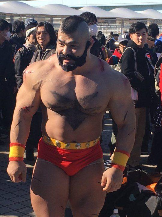 Street Fighter Zangief Street Fighter Cosplay Male Cosplay Street Fighter Characters