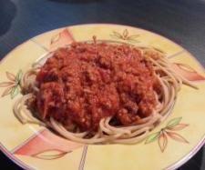 Rezept Spaghetti Bolognese von Stefanieee - Rezept der Kategorie Hauptgerichte mit Fleisch