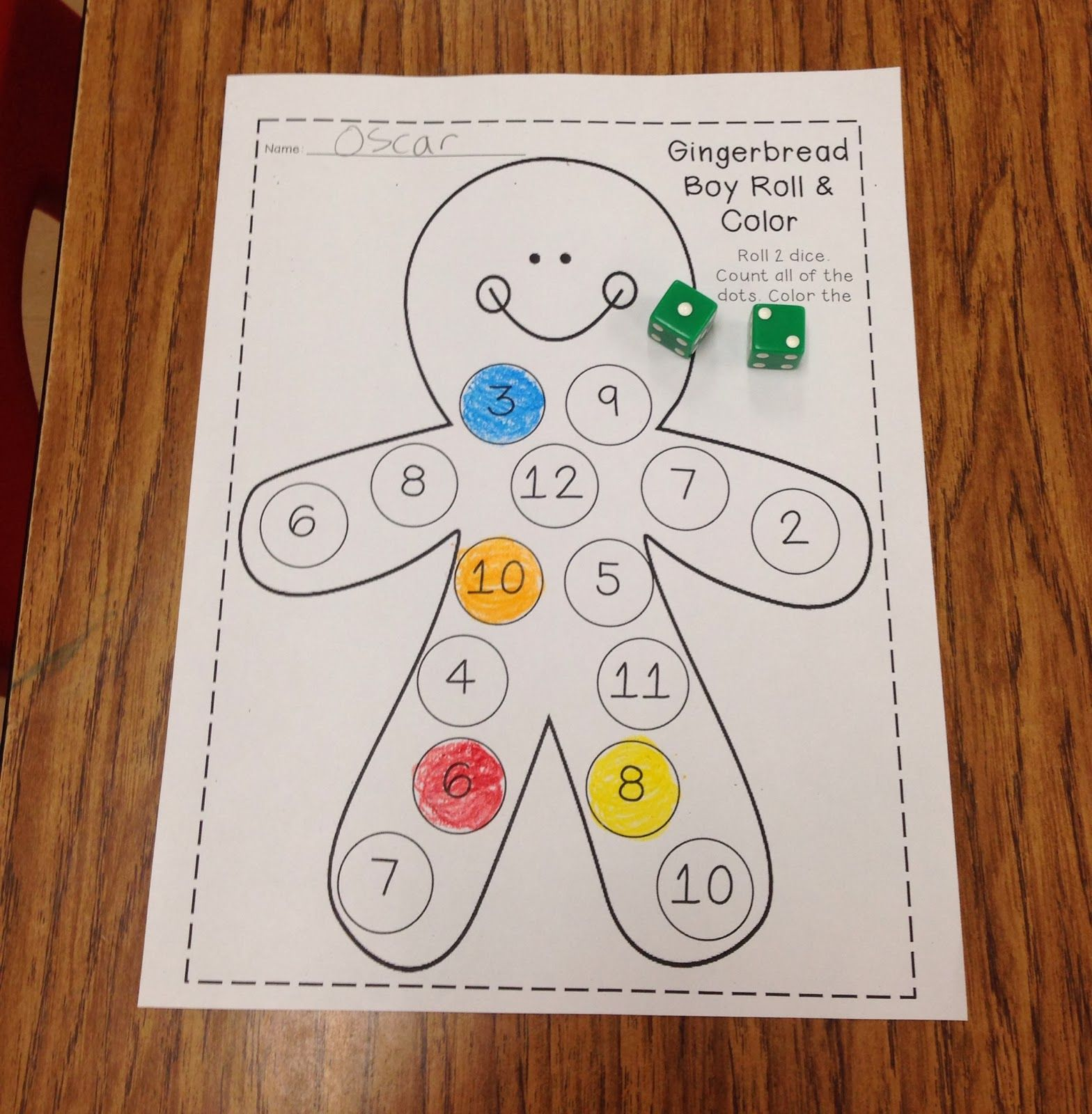 The Gingerbread Man and Girl Unit TONS of math literacy and