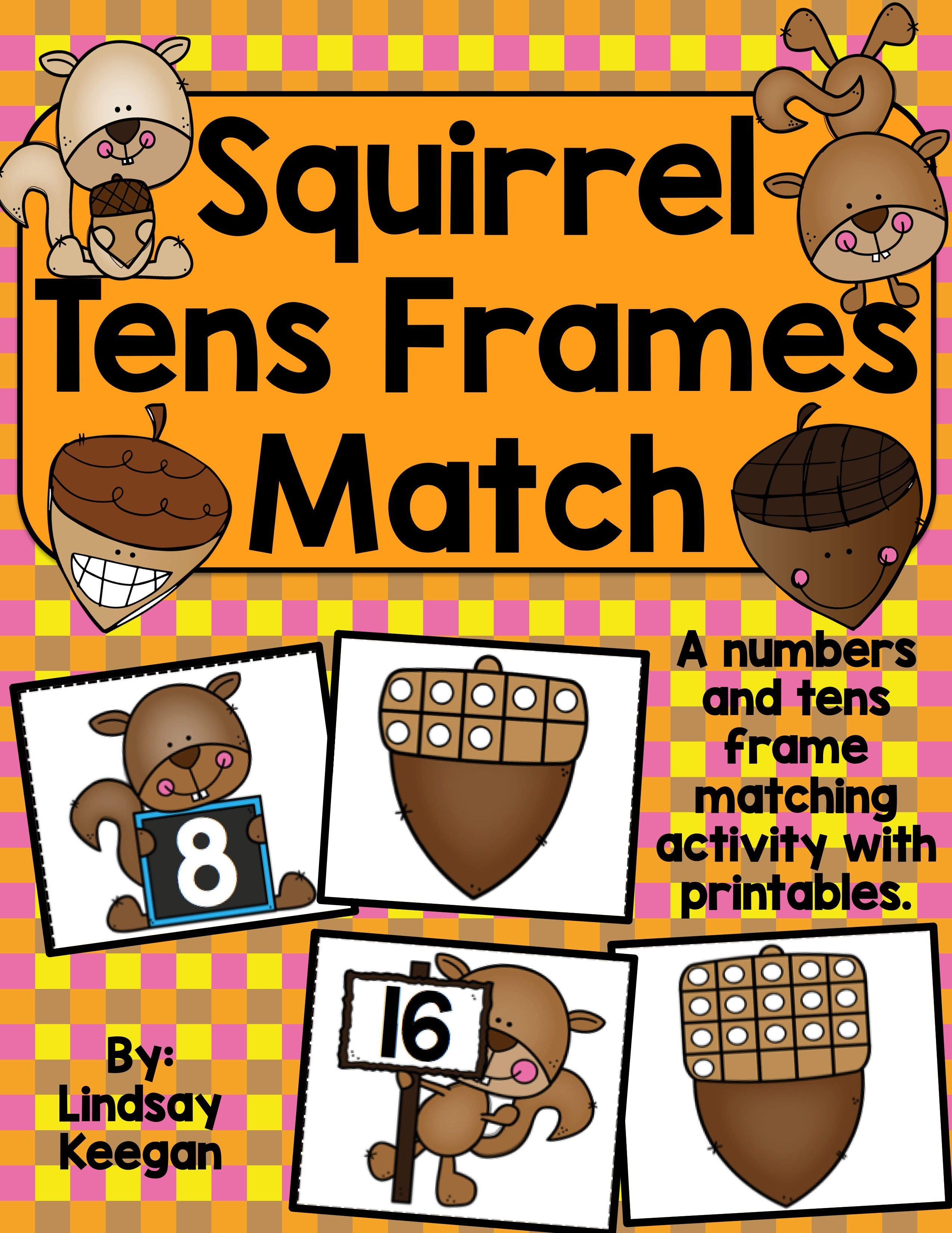 Squirrel Fall Activities