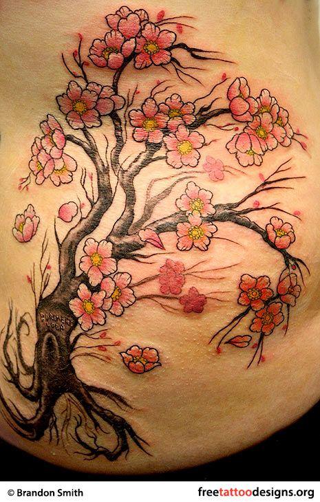 Tree Tattoos Palm Tree Of Life Pine Tree Tattoo Blossom Tree Tattoo Cherry Blossom Tree Tattoo Men Flower Tattoo