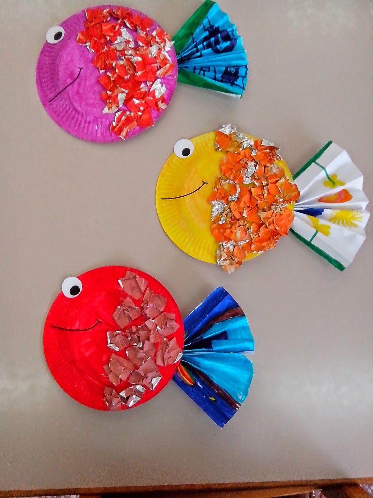 Maro S Kindergarten Tropical Fish Craft