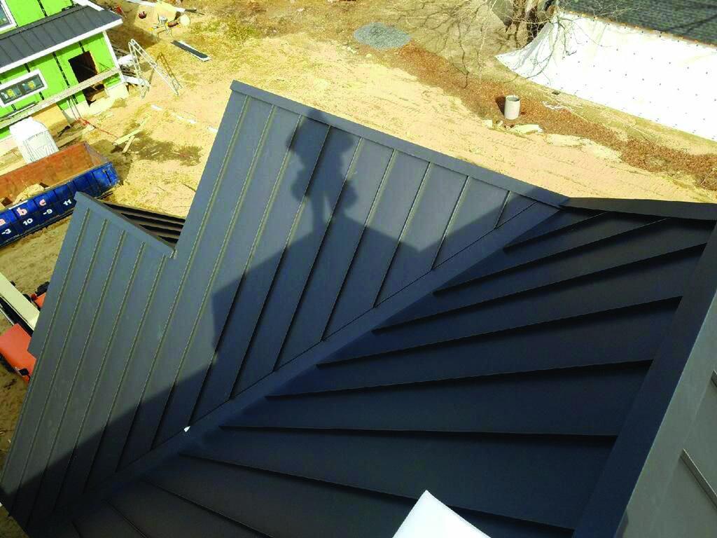Metal Roofing Homes Tre Metal Roof Standing Seam Metal Roof Standing Seam