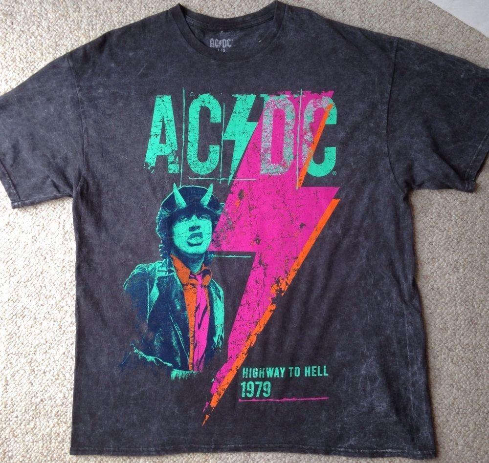 AC//DC Boys Angus Highway To Hell T-Shirt