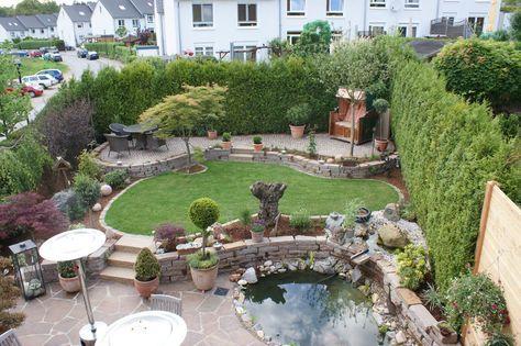 Gestaltungstipps für ein immerblühendes Beet Gardens, Backyard and - reihenhausgarten vorher nachher