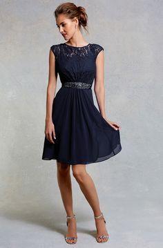 Simple Short Bridesmaid Dresses