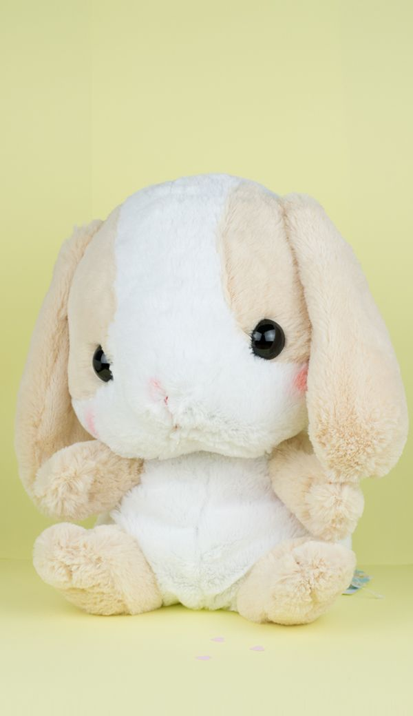 Amuse PoteUSA loppy bunny plush cream backpack #bunnyplush